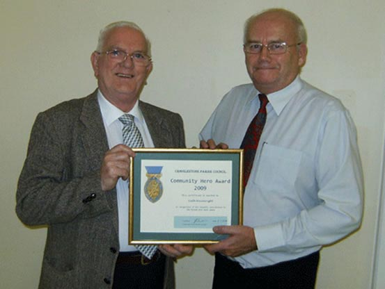 2009 community hero award